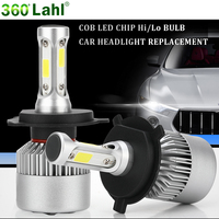 H4 H7 Led 12v 6000K Auto Headlights Light Bulbs H1 H11 9006 HB4 9005 9004 H3