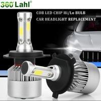 H4 H7 Led 12v 6000K Auto Headlights Light Bulbs H1 H11 9006 HB4 9005 9004 H3