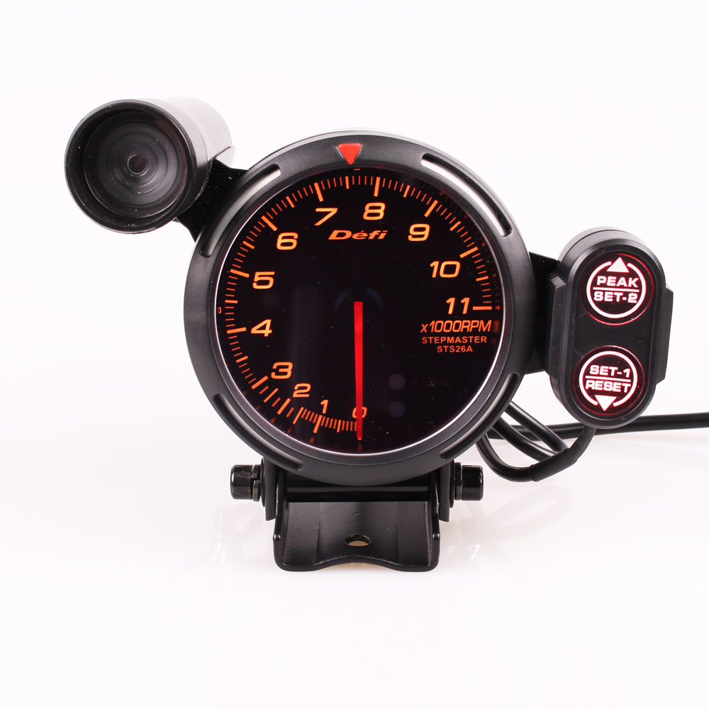 Defi Tachometer Gauge 7 colors 0-11000 RPM Shift Light BF style Auto GaugeDefi Tachometer Gauge 7 colors 0-11000 RPM Shift Light BF style Auto Gauge