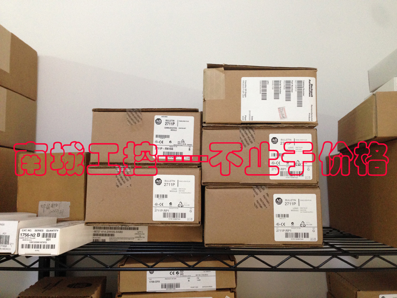 ALLEN BRADLEY 2711P-RP9A,NEW AND ORIGINAL,FACTORY SEALED,HAVE IN STOCK allen bradley 1756 pa75 1756pa75 controllogix ac power supply new and original 100% have in stock free shipping