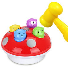 Купить с кэшбэком Simbable Kidz Sports Toys Light-Up and Vocal Baby Toys Learning and Education Noise Maker Toys Knock On Music Hammer Game