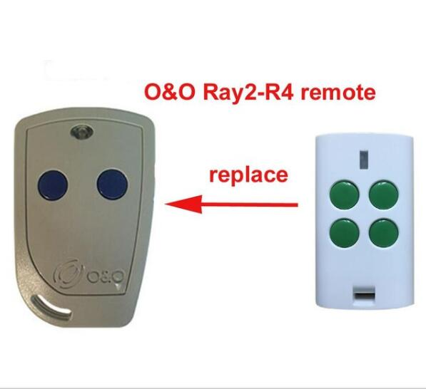 Ambitious O&o R4-4 Compatible Remote Control Oeo Tx2/tx4 Garage Door Opener High Quality Good