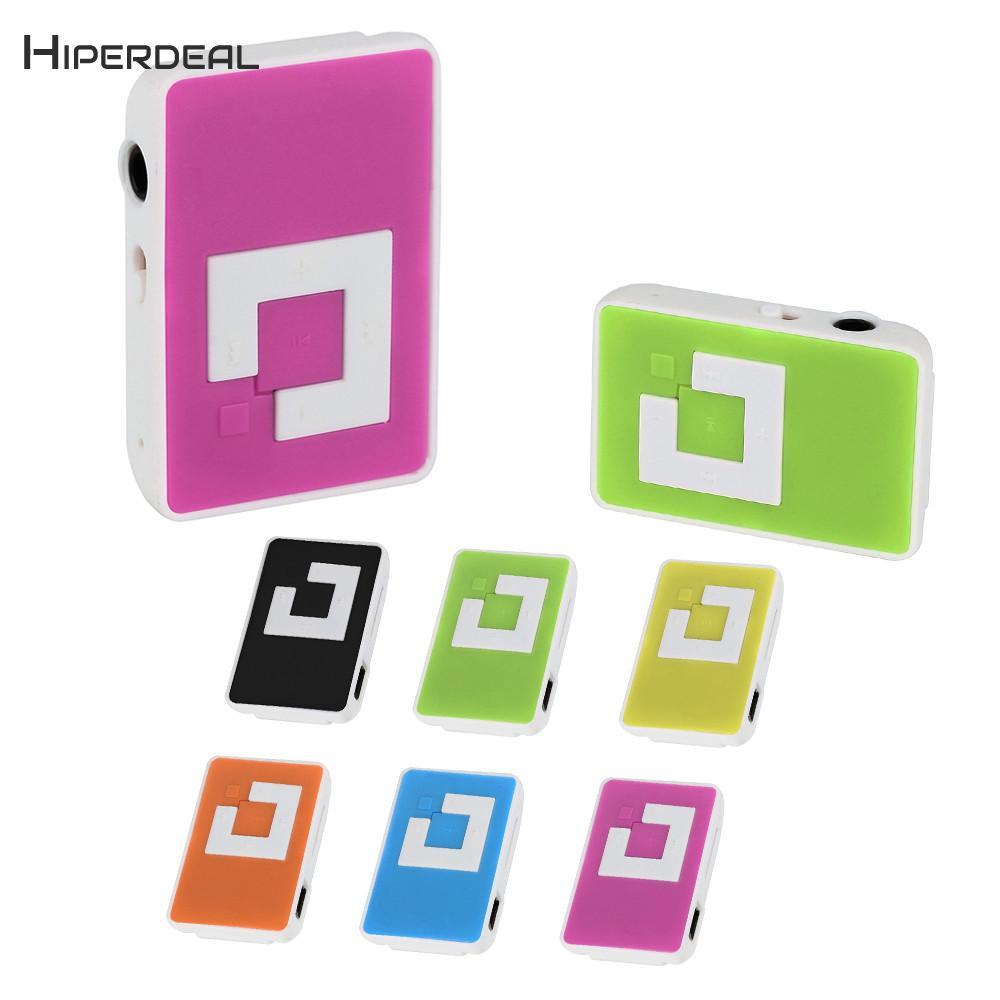 Hiperdeal Universität Mini Mp3 Clip Usb Mini-player Musik Media Player Unterstützung 32 Gb Micro Tf Karte & Headset Mode Player Qiy02 Dauerhafte Modellierung Hifi-player