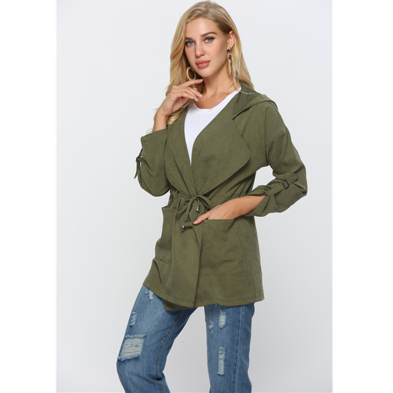 woman trench coat female womans ladies clothing top 2019 autumn woman 2019 coat womans clothing harajuku cape in Trench from Women 39 s Clothing