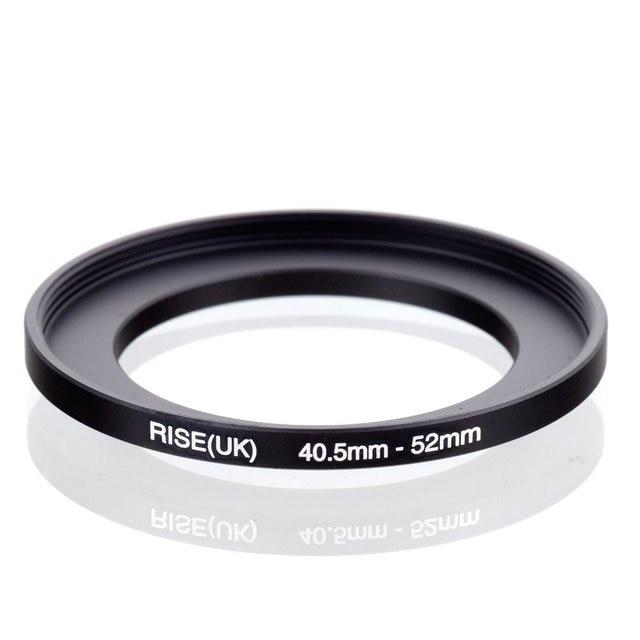 מקורי עלייה (בריטניה) 40.5mm 52mm 40.5 52mm 40.5 כדי 52 שלב עד טבעת מסנן מתאם שחור
