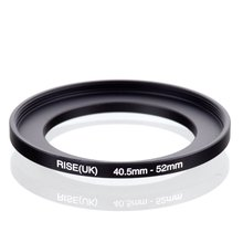 Original RISE (royaume uni) 40.5mm 52mm 40.5 52mm 40.5 à 52 adaptateur de filtre à anneau dentraînement noir
