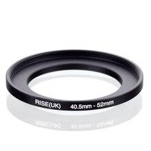 RISE(UK) Adaptador de filtro de anillo de aumento, original, 40,5mm 52mm, 40,5 52mm, 40,5 a 52, color negro