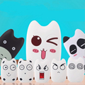 7800 mAh banco de potência dos desenhos animados totoro para diferentes telefones 2016 novo estilo animal bonito rosto universal baterias De Backup