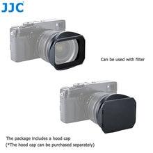 Jjc lente da câmera capa sombra para fujinon xf 23mm f1.4 & 56mm f1.2 r (apd) em xt30 xt20 xt10 xpro2 xpro1 xt3 xt2 substitui LH XF23