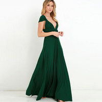 SMDPPWDBB Summer Maternity Dresses Maxi Dress Convertible Wrap Gown Dress Bandage Bridesmaid Evening Party Dress For Pregnancy