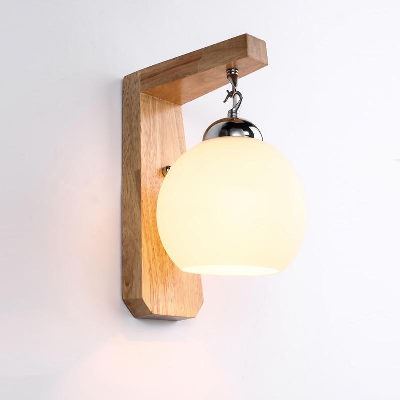 Sodobna in pogodbena stenska svetilka spalnice glava postelje sladko - Notranja razsvetljava - Fotografija 3