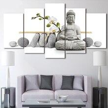 Современная Картина на холсте для украшения дома, 5 шт.