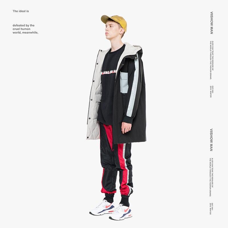 Jacket White 16 Duck Down Brand Homme 2018 Coat In 42Off Winter Yc2450184 Hooded viishow For Us90 Men Doudoune Men's lFJKc3T1