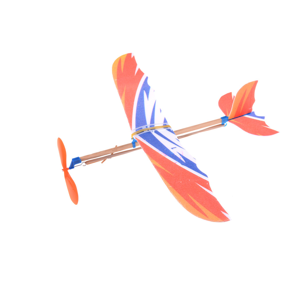 Buy Cheap Hot Sale 1pc 50*43cm Elastic Rubber Band Powered Diy Foam Plane Model Kit Aircraft Educational Toy Toys & Hobbies