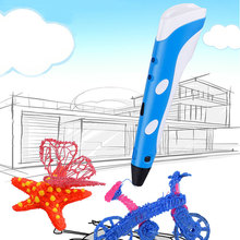 Creative 3D Printing Pens Intelligence Drawing 3d Printer Pen With ABS Filament Best Gift For Kids Christmas Printer
