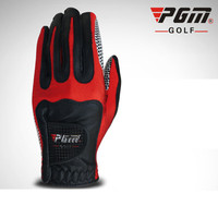 2018 PGM Golf Gloves Men Golf Magic Gloves Left Hand Single Non slip Anti slip Particle Design 360 Full Ventilation
