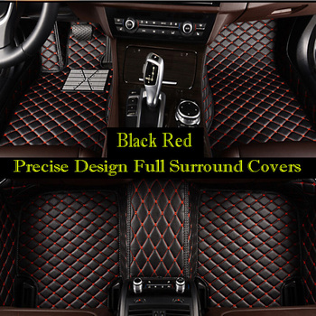 Custom Car floor mat fit Left or right hand drive fit Hyundai i30 Elantra SantaFe Sonata Solaris Tucson verna tiguan car-styling