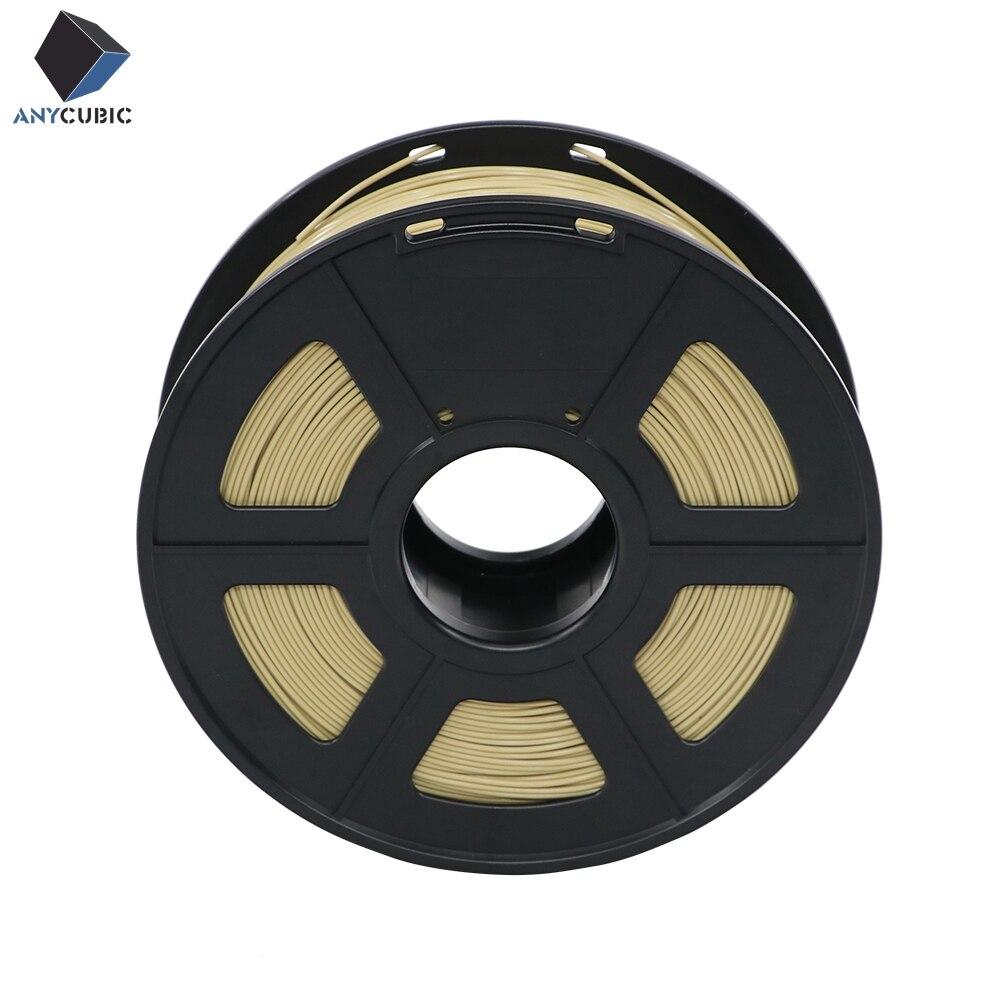 Anycubic 3D imprimante filament ABS 1.75mm 1kg plastique impression caoutchouc consommables matériel avec 14 sortes de couleurs fournir vous choisissez