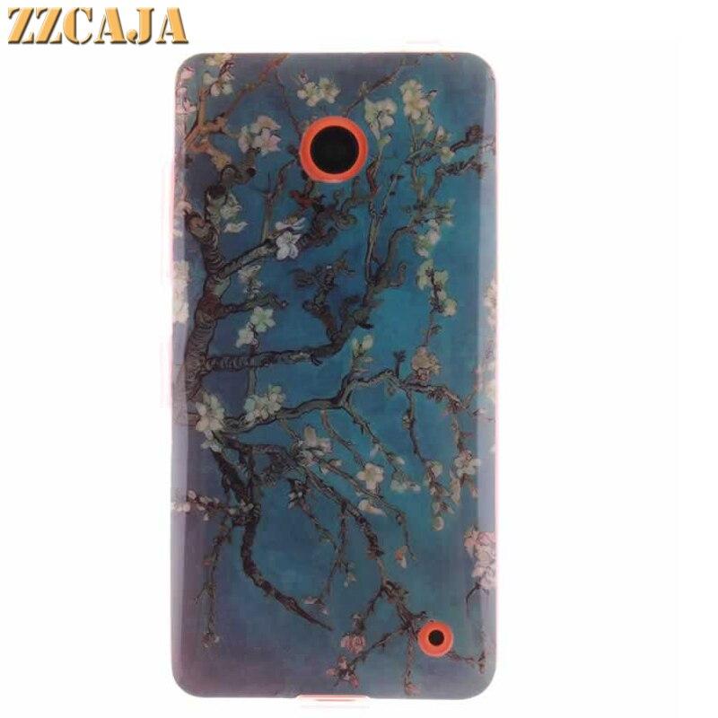 Zzcaja для Nokia Lumia 630 Чехол кремния Мягкий гель ТПУ Резиновая маленьких Товары для птиц сова задняя крышка сотового телефона для nokia 630 18 видов ко…