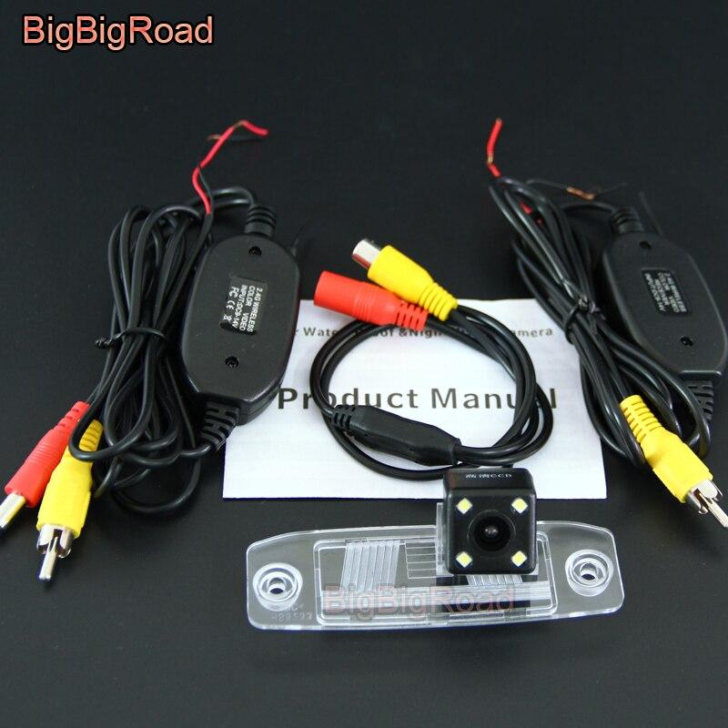 BigBigRoad Car Rear View Reverse Backup Parking Camera For KIA Forte Cerato K3 Sedan Spo ...