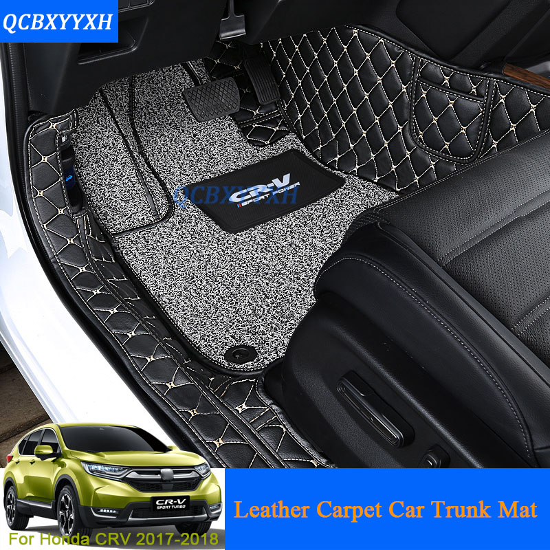 Car Floor Mat 3d Leather Car Styling All Leather Tray