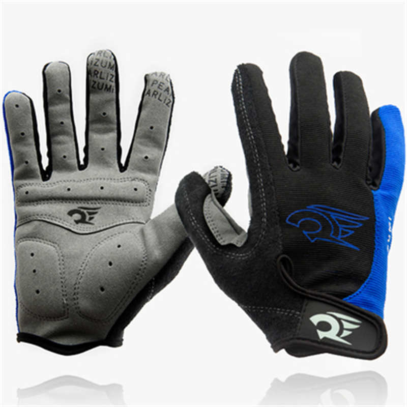 1 Pair ROBESBON Whole Breathable Cycling font b Gloves b font Full Finger Thicken Warm Protect