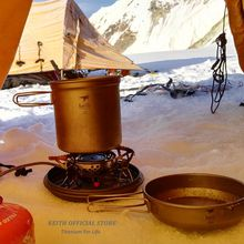 Keith Titanium 1.2L Pot & 400ml Bowl Set