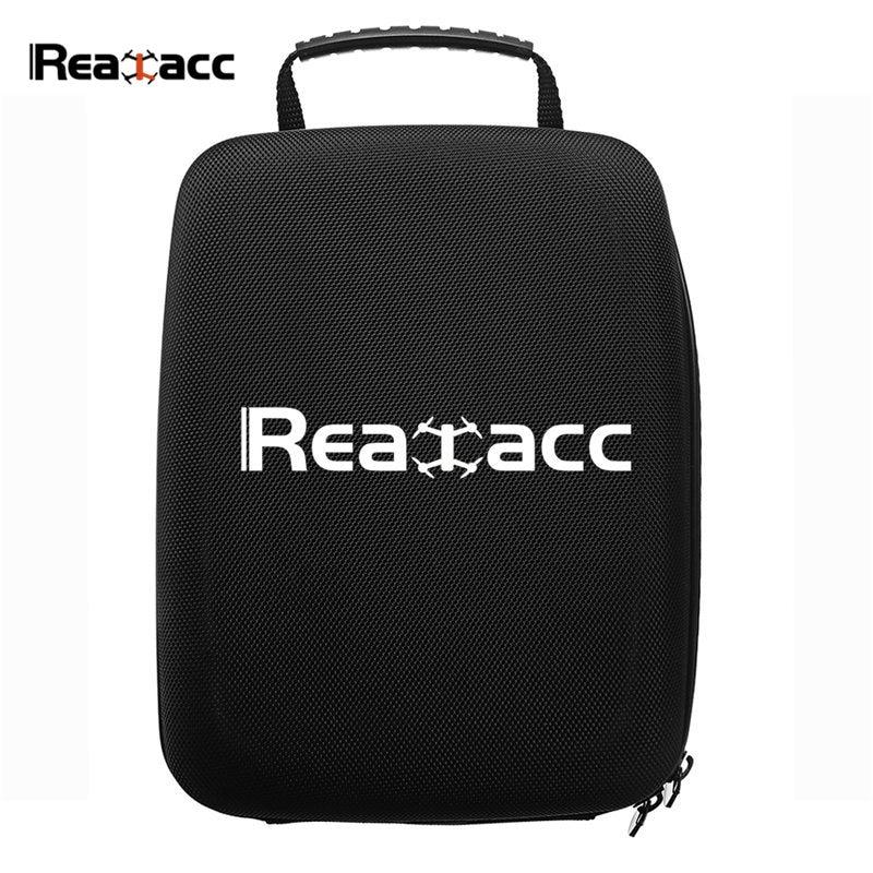 цена Realacc Transmitter Handbag EVA Hard Case Suitcase for Frsky Q X7 X-Lite Flysky FS-i6 Remote Control FPV Goggles RC Models