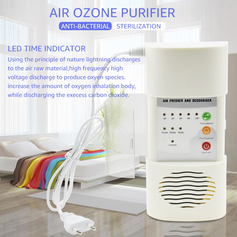 Image 2 - ANIMORE Air Ozonizer Air Purifier Home Deodorizer Ozone Ionizer Generator Sterilization Germicidal Filter Disinfection CleanRoom-in Air Purifiers from Home Appliances