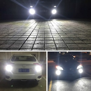 Image 5 - 2Pcs H7 หลอดไฟ LED Super Bright 1400lm 12 3030SMD รถหมอก 6000K สีขาวขับรถวันทำงาน auto DC 12V 24V
