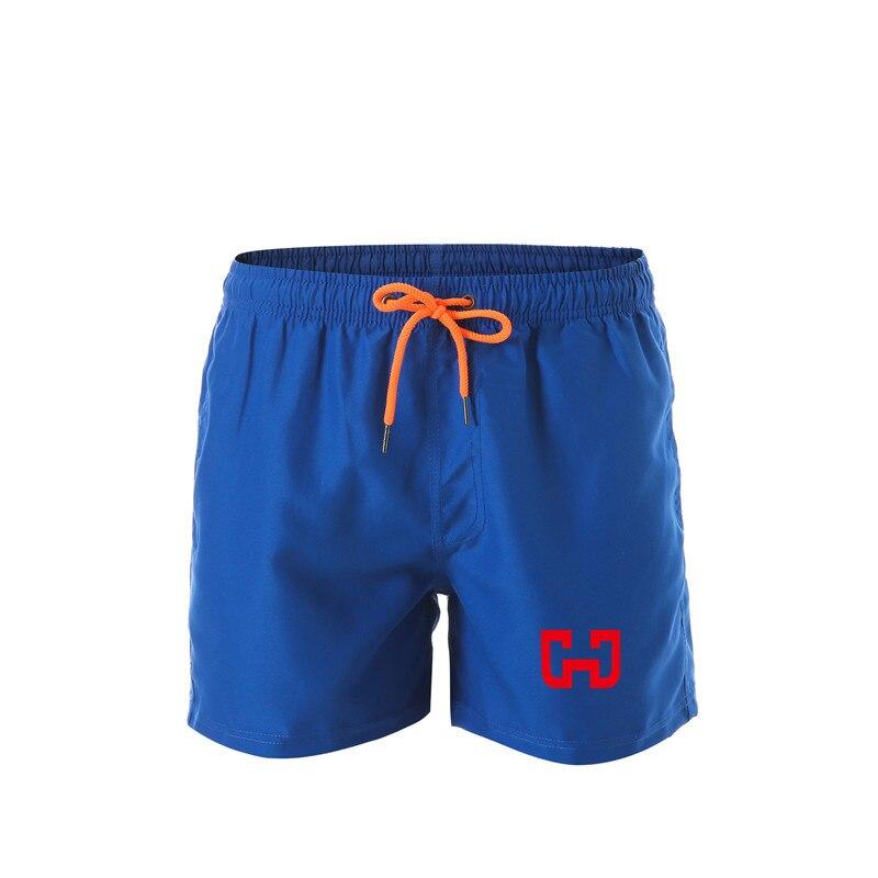 2019 New Quick-drying Beach Shorts Men Swimwear men's Swimming Trunks Summer Bathing Beachwear Surfing Board shorts Men's