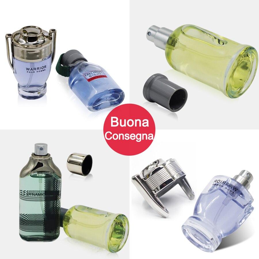 MayCreate 4Pcs Liquid Parfum for Men Lasting Fragrance Eau De Toilette Cologne Mini Bottle Portable Female Parfum Body Spray 2