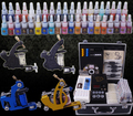 A full set of Tattoo kit  tattoo tool equipment high-grade machine Body Art  kit  YLT-10