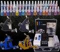 Un conjunto completo de kit de tatuaje equipo herramienta tatuaje máquina de alto grado Body Art YLT-10