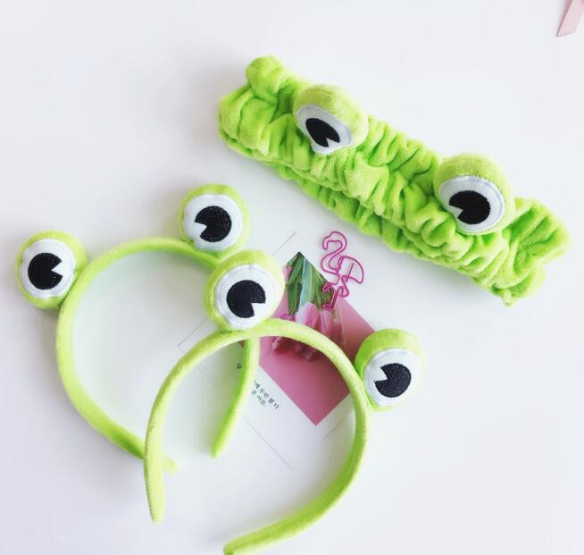 New arrival Women's Frog hairband girl's cute   headwear   hair accessories for party