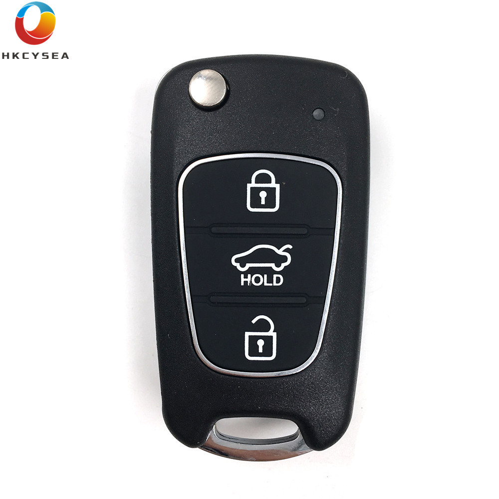 HKCYSEA 5PCS LOT 3 Button Remote Key B04 For Kia for Hyudai Style Work With KD100