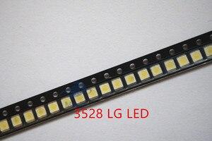 Image 3 - 500 יח\חבילה 3528 2835 3V SMD LED חרוזים 1W LG 100LM קר לבן עבור הטלוויזיה LCD תאורה אחורית