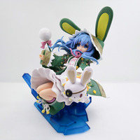 HKXZM Anime Figure 21CM Dating War Date A Live Yoshino PVC Figure Collectibles Brinquedos Model Toy