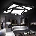 Frete grátis Hot Modern led luzes de teto lâmpada para quarto sala de estar lustres de sala para casa iluminação interna regulável abajur
