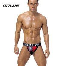 ORLVS Brand Men Underwear Mesh Shorts Cotton Men Briefs Sexy Men briefs Panties 5 Colors Underpants Pouch H115
