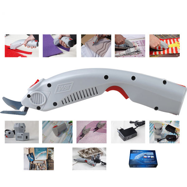 1PCS Electric Fabric Scissors Cutter Electric Shears for cloth textile leather