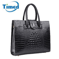 Luxury Genuine Leather Women S Laptop Handbags 2017 Business Briefcases Computer Bags OL File Notebook Totes