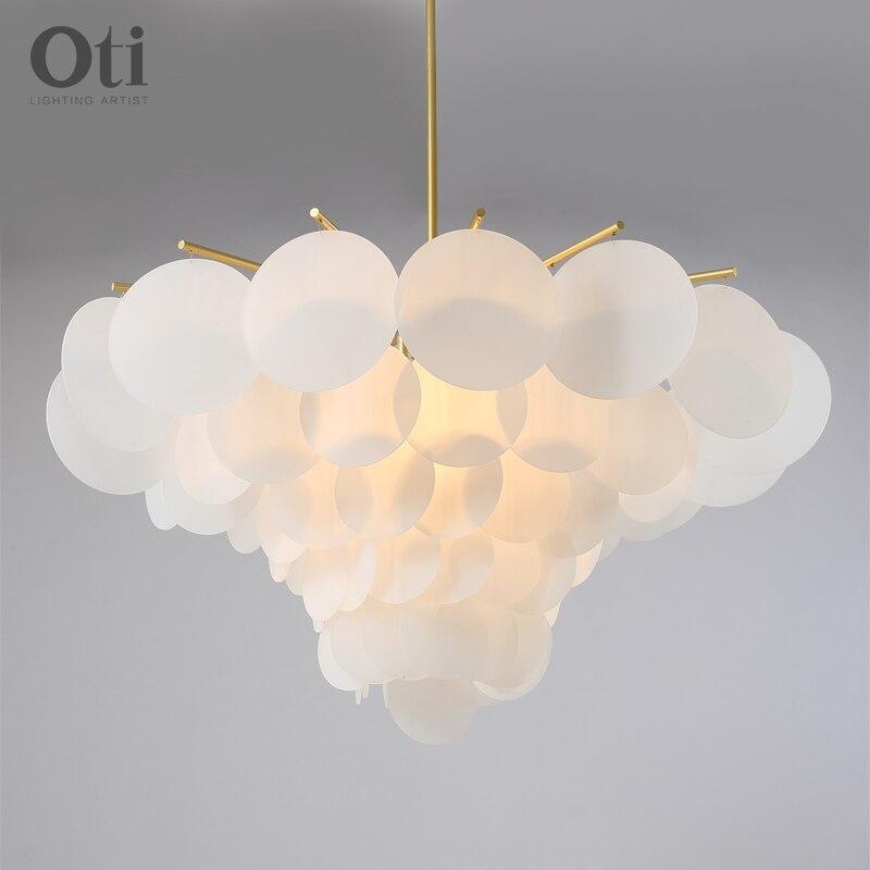 Moderno pendurado lâmpadas de teto nordic vestuário decoração bola vidro lâmpada do teto para sala estar quarto sala jantar