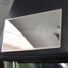 CHIZIYO новейший 15X8 см большой козырек от солнца макияж солнце-затенение Stainlesssteel автомобильное косметическое зеркало
