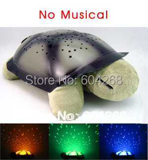 4 colors Free shipping Turtle Night Light Stars Constellation Lamp Without Retail Box,1pcs/lot