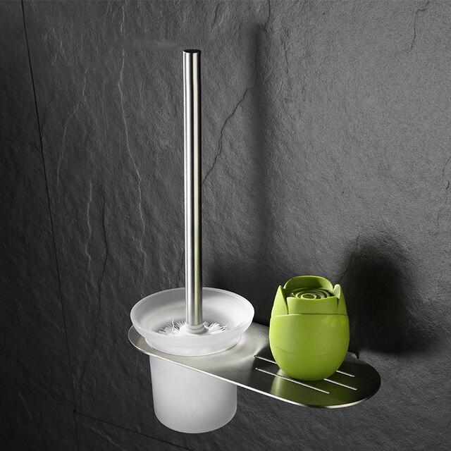 Parete mounted orb nichel pennello smalto opaco di vetro prodotti porta scopino da bagno - Smalto per pareti bagno ...
