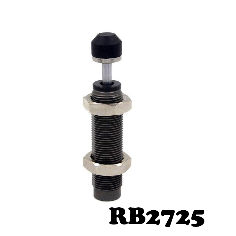 RB2725 Pneumatic Air Cylinder Shock Absorber RB 2725 O.D. thread size 27mm Stroke 25mm SMC type RB series Buffers 20mm threaded dia 20mm stroke pneumatic shock absorber kvmkh