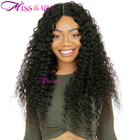 Miss Cara Deep Wave 360 Lace Frontal Wigs For Black Women Pre Plucked With Baby Hair Peruvian Full Human Hair Lace Front Wig