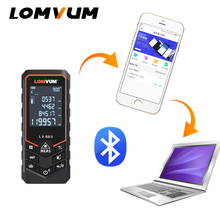 LOMVUM New Arrival Bluetooth USB Laser Rangefinders Digital Distance Meter Battery-powered Measurer