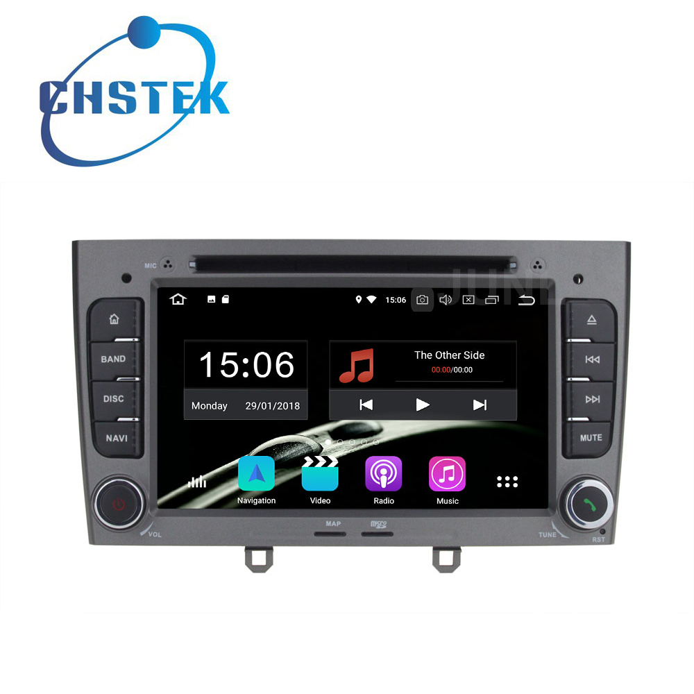 Octa core 4GB RAM Android 8.0 Car DVD Player Radio GPS for Peugeot 408 2010-2011 Peugeot 308 2008-2011 with WiFi BT stereo цена